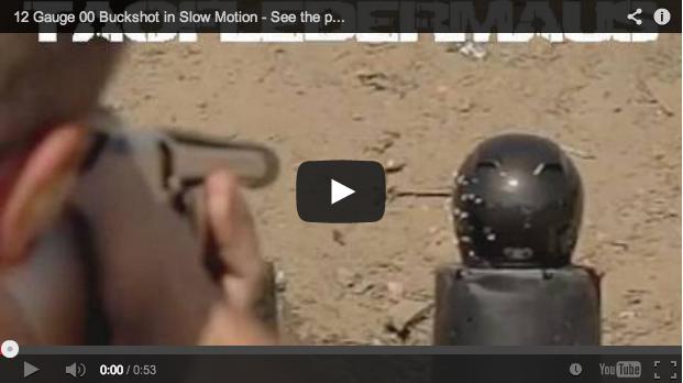 Disparo de postas a cámara lenta