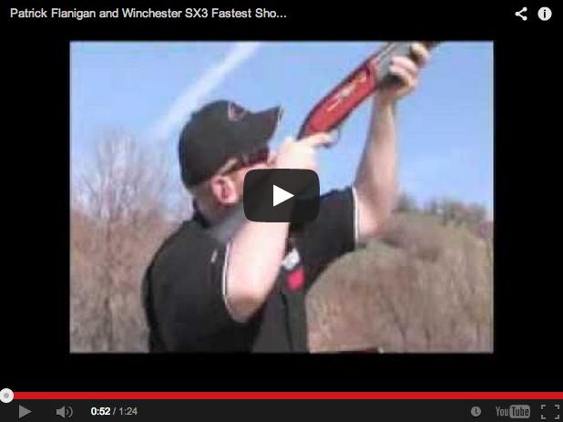 Winchester SX3. 12 disparos en 1,4 segundos