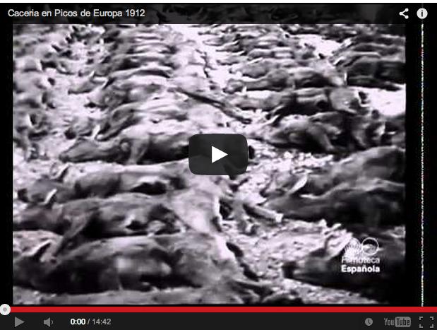 Caza en España hace más de 100 años (1912)