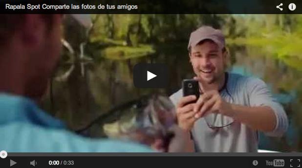 Divertido anuncio de Rapala: la pesca y las nuevas tecnologías