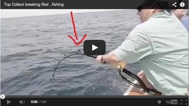 Recopilación de roturas de cañas de pescar