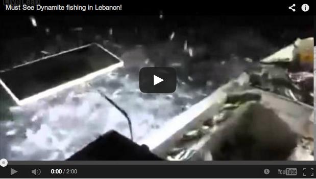 Furtivos: Pescan con dinamita, lo graban y acaban arrestados