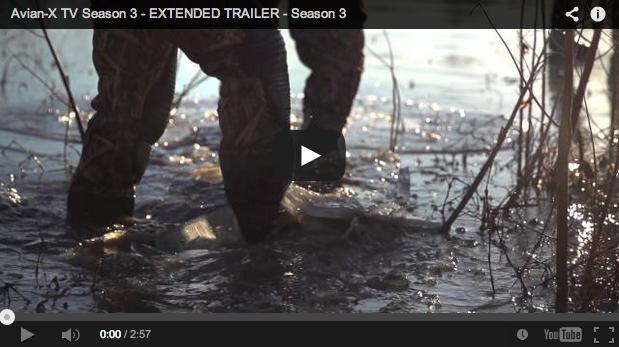 Excepcional vídeo de caza: trailer de la tercera temporada de Avian X TV
