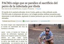 pacma perro ebola