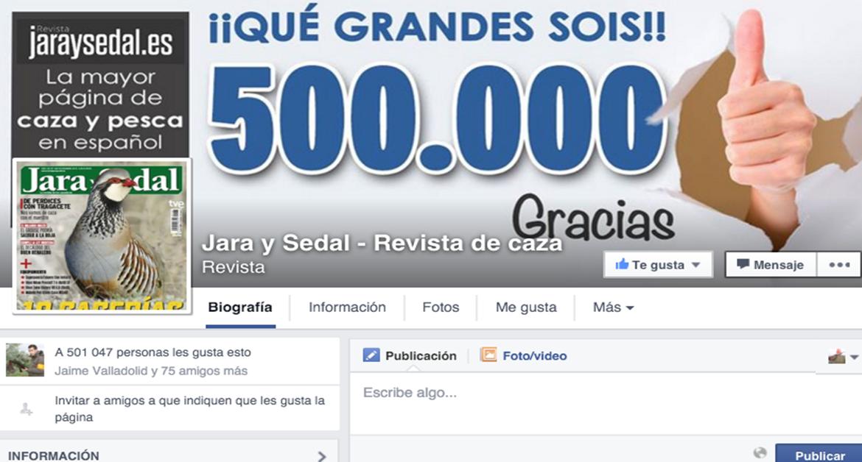 Jara y Sedal supera los 500.000 seguidores en Facebook