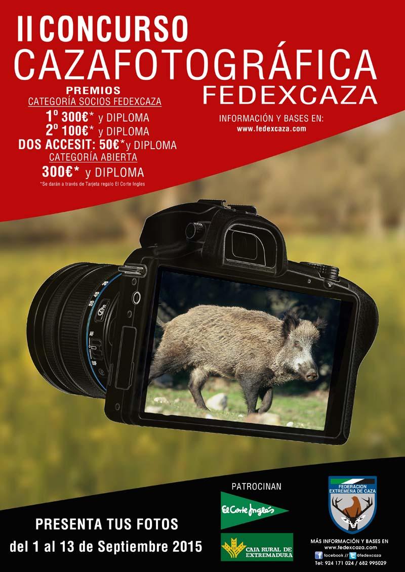 """FEDEXCAZA organiza el II Concurso """"Cazafotográfica"""""""