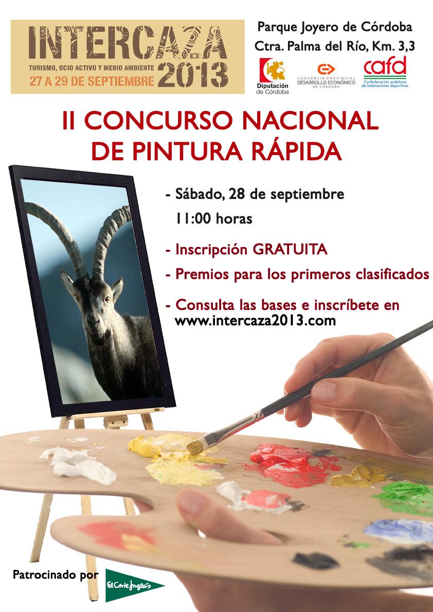 Intercaza 2013 acoge la segunda edición del Concurso de Pintura Rápida