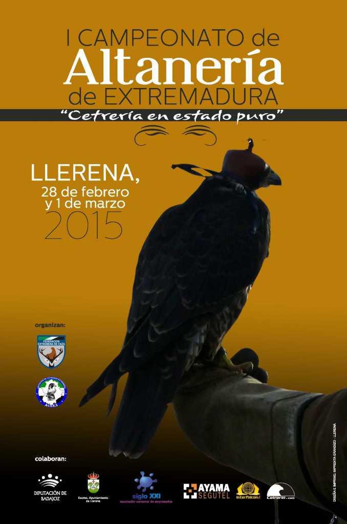 Cartel I Campeonato Extremadura Altaneria