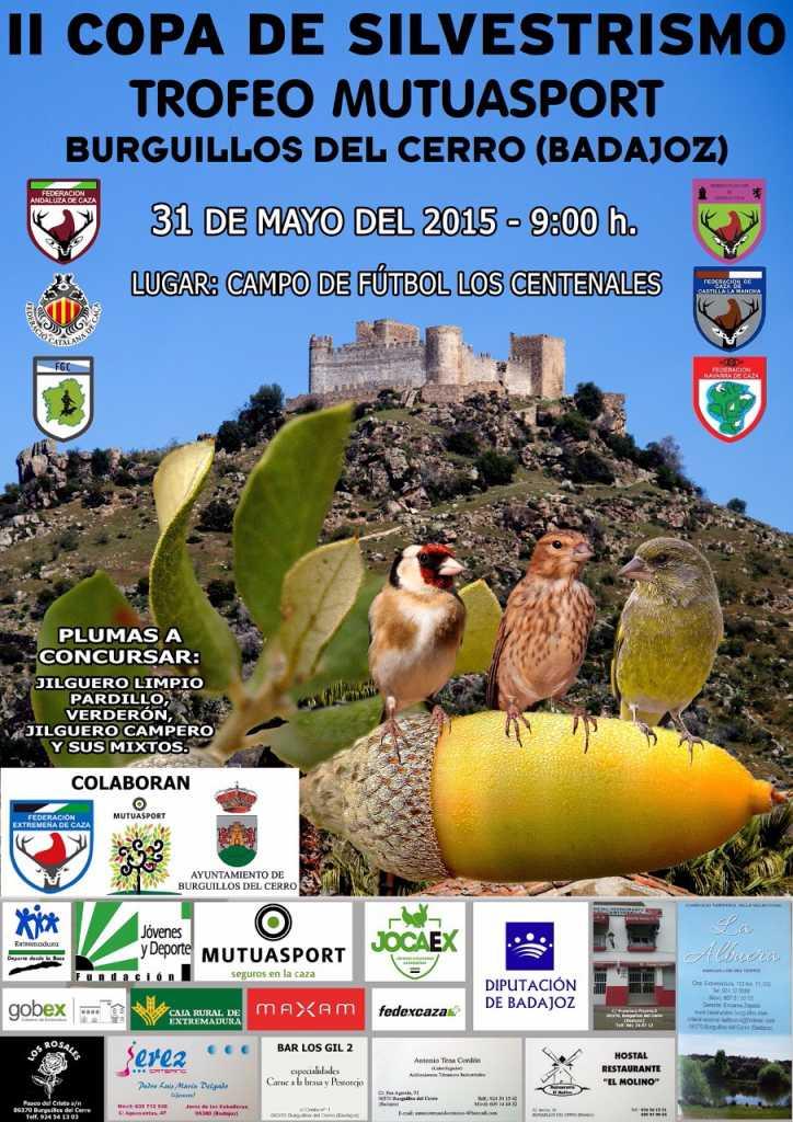 Cartel II Copa Silvestrismo Trofeo Mutuasport
