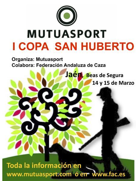 Mutuasport celebrará el 14 y 15 de marzo la I Copa San Huberto de ámbito nacional