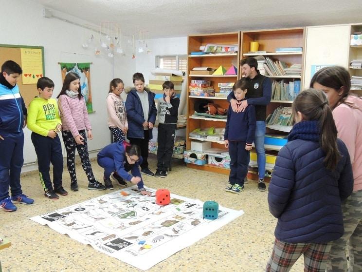 El proyecto escolar 'Caza y Naturaleza' llegará en su tercera edición a casi 800 alumnos de Primaria