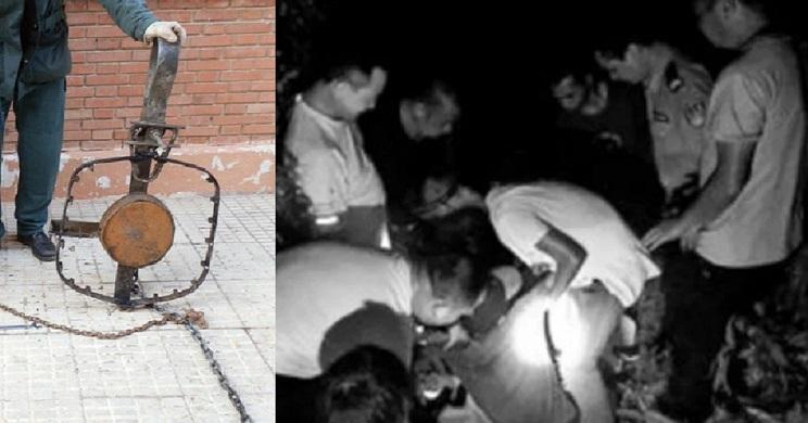 Un chino sobrevive tras dos semanas atrapado en un cepo en el monte