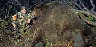Récord mundial de oso pardo / Fotografía: Pope & Young.