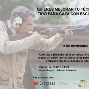 Cartuchos J&G-Excopesa te invita a una apasionante jornada de tiro práctica