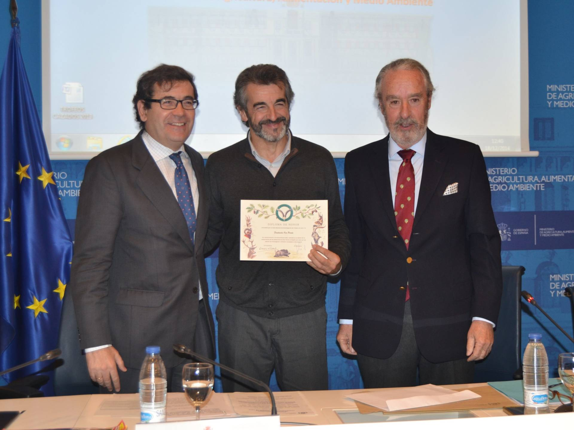 Celebrada la entrega de diplomas de la Junta Nacional de Trofeos