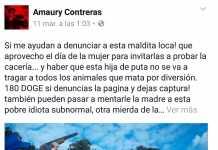 Denuncia Andrea Lopez