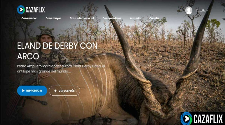 Hoy en Cazaflix: eland de Derby con Arco