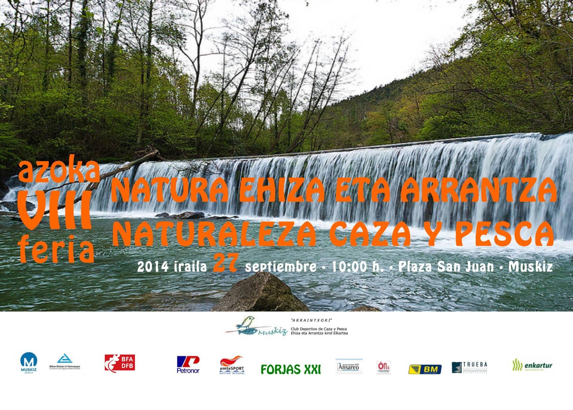 Este sábado se celebra en Muskiz la feria de caza, pesca y naturaleza.