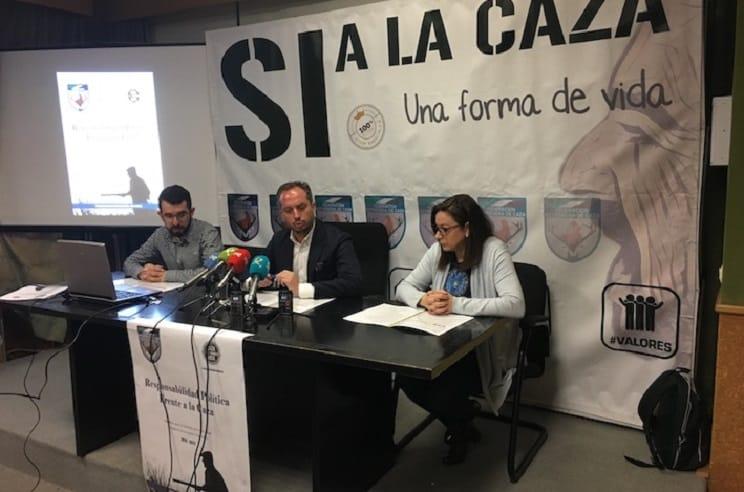 FEDEXCAZA presenta la campaña #LaCazaTambienVota en Extremadura