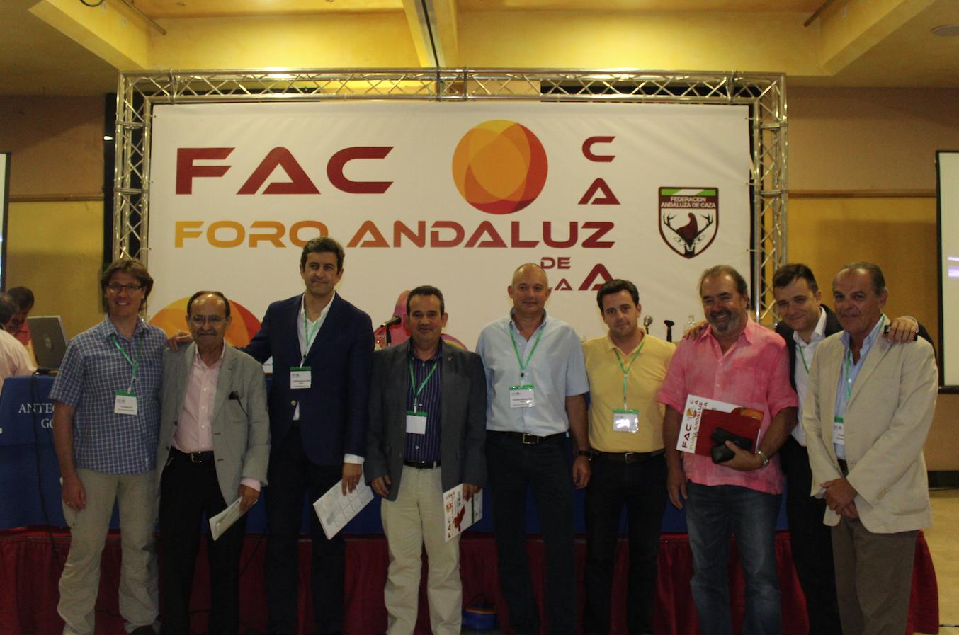 El I Foro Andaluz de la Caza se estrena con éxito y gran aceptación entre el público