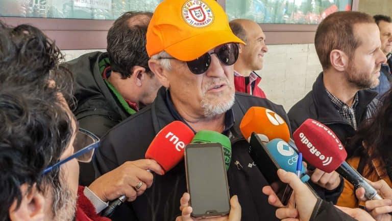 Felipe Vegué, en una comparecencia pública. ©Israel Hernández