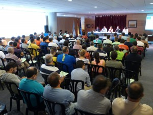 Inauguración oficial de los cursos, a cargo de la Directora General de Conservación de la Naturaleza, y del Presidente de la Federación Galega de Caza, entre otras autoridades, que tuvo lugar el pasado 14 de junio en Silleda.