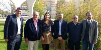Foto reunión FCCV con Asaja Alicante