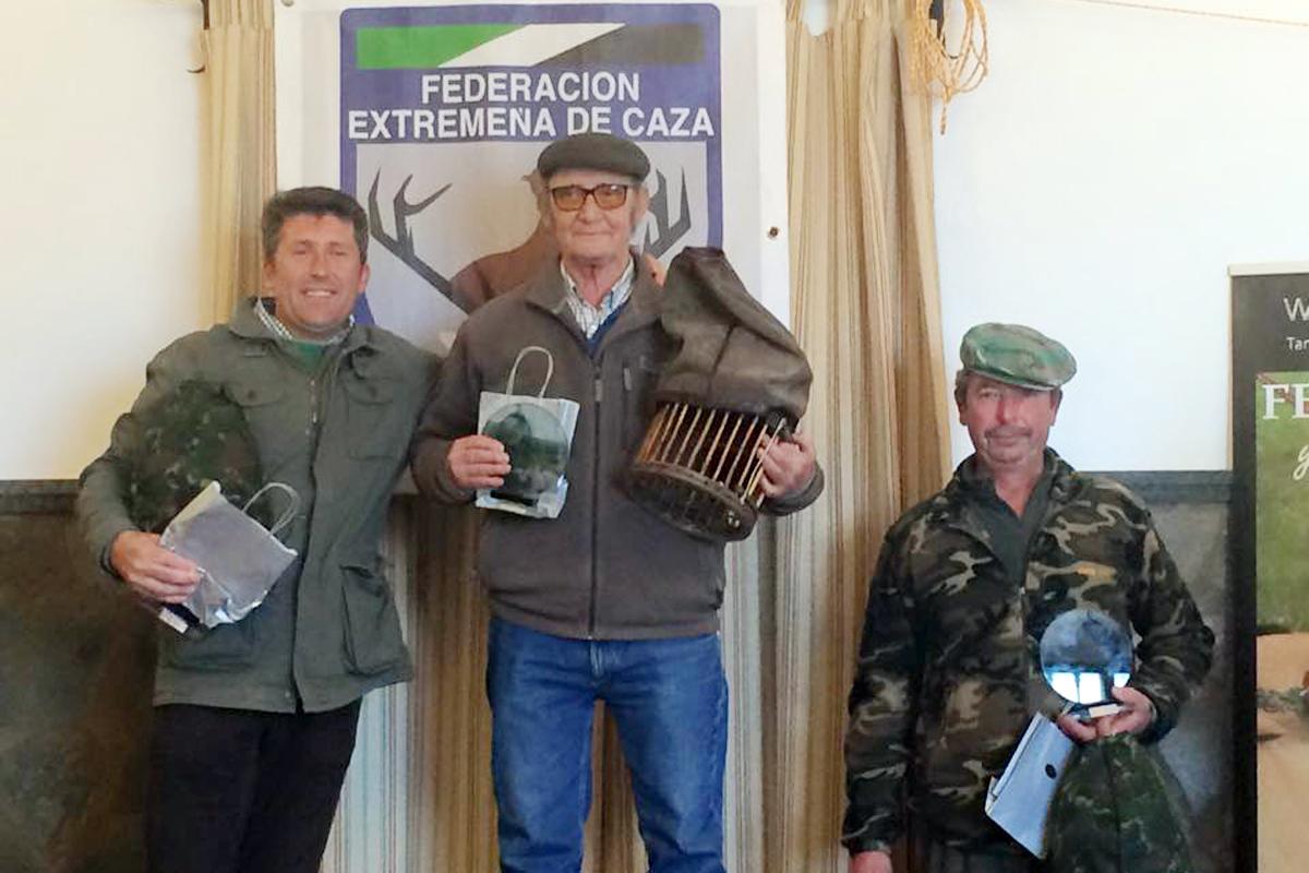 Manuel Parejo impone su veteranía en el Autonómico de Perdiz con Reclamo