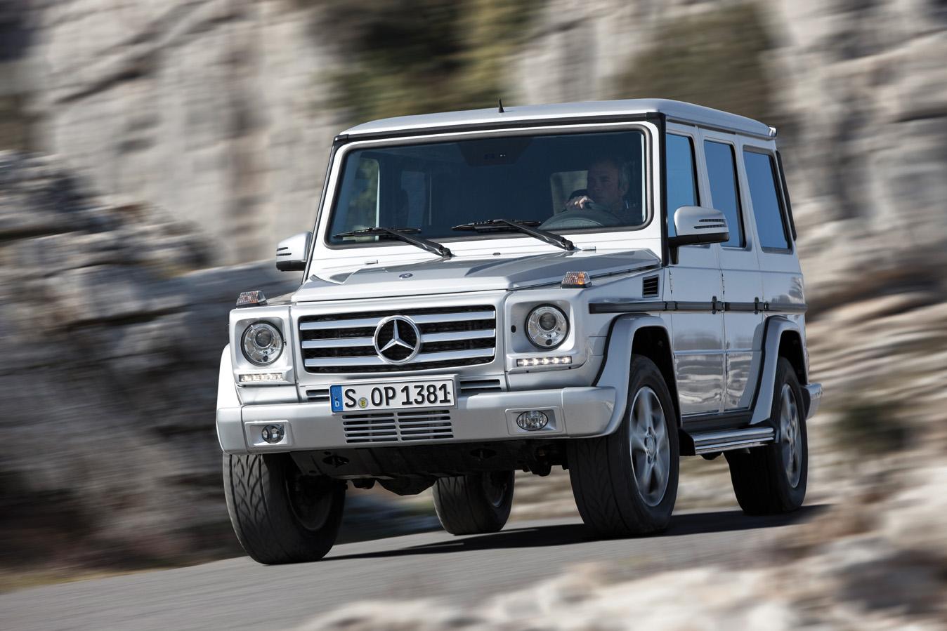 La Clase G de Mercedes-Benz se actualiza