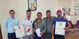 Ganador y Tercer clasificado compaK FEDEXCAZA