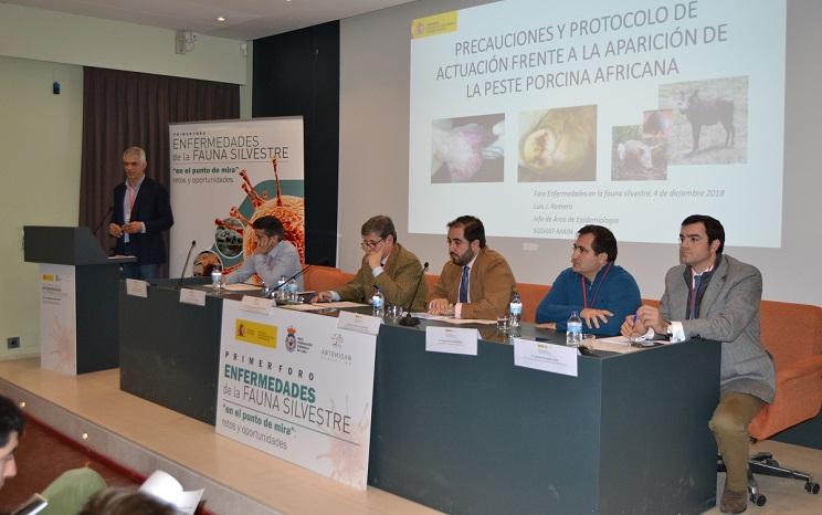 Celebrado en Madrid el I Foro de Enfermedades de la Fauna Silvestre