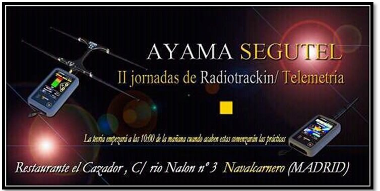 II jornadas radiotracking Federacion Madrileña de Caza