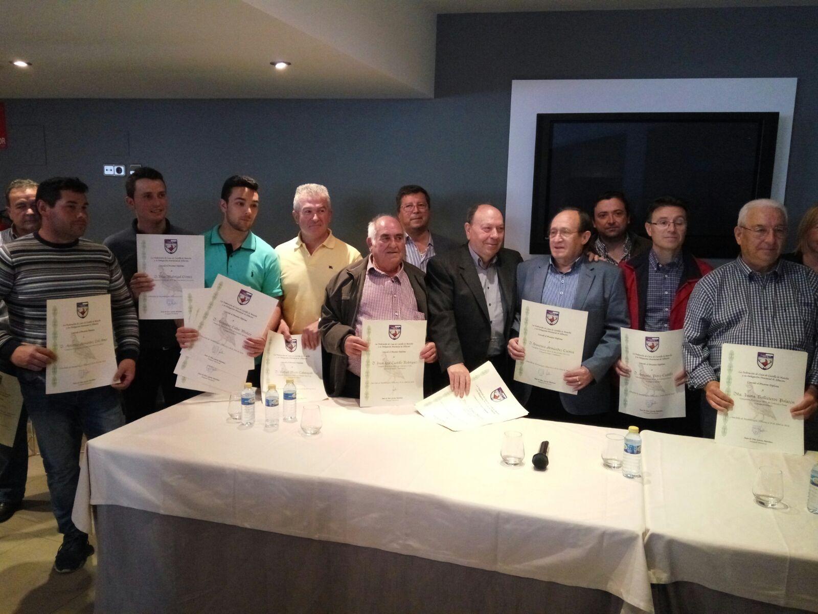 La Delegación Provincial de Caza de Castilla-La Mancha reconoce a quienes colaboraron en la homologación de nuevas jaulas trampas para urracas