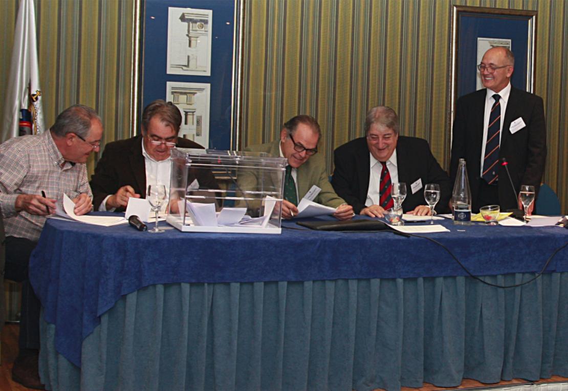Elecciones RFEC 2012