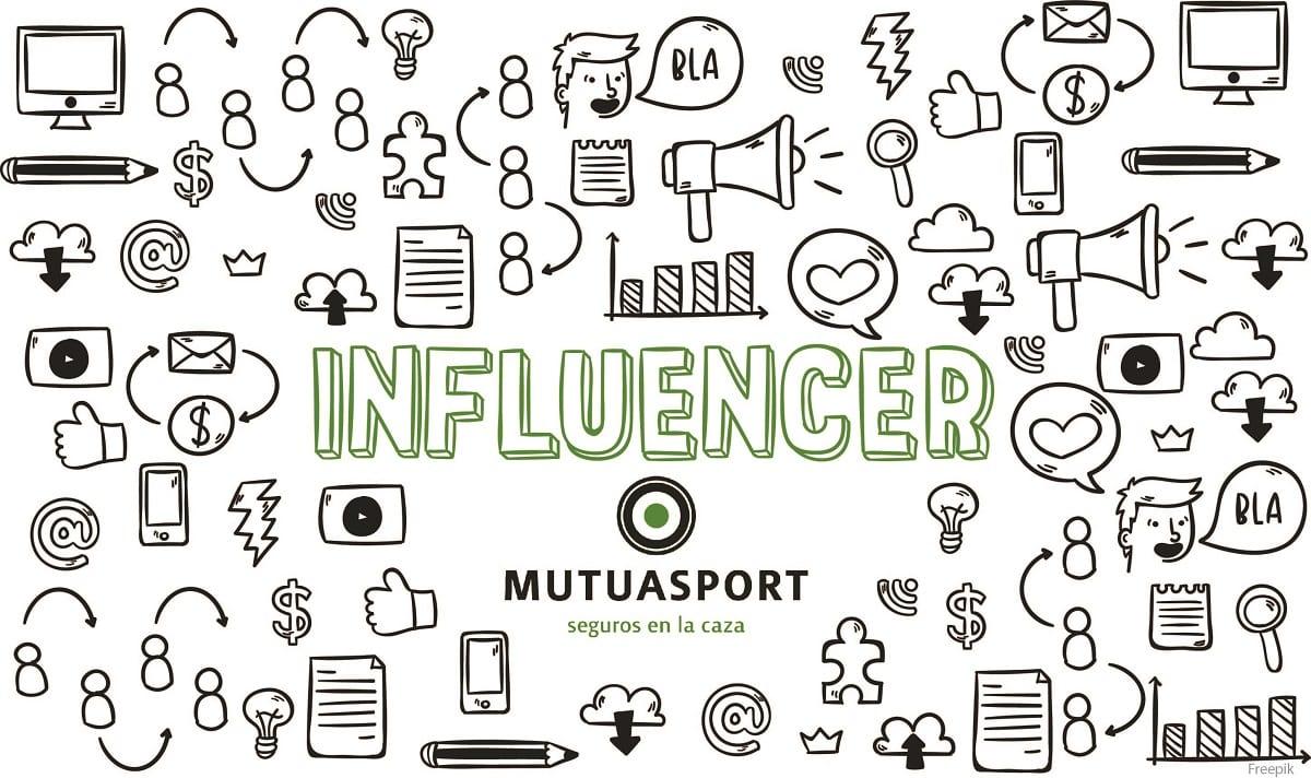 Mutuasport incorpora influecers a su campaña 'Stop accidentes de caza'
