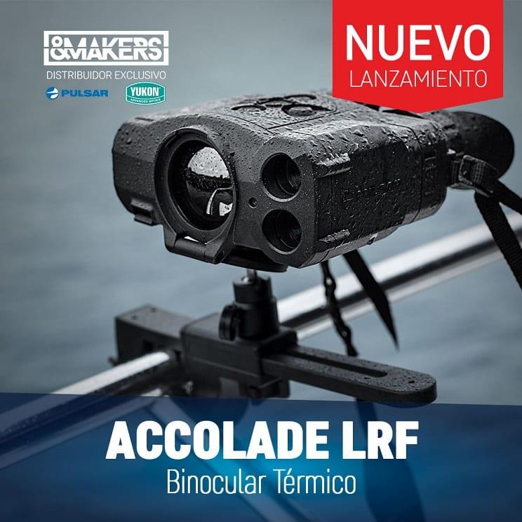 Nuevo Binocular Térmico de Pulsar con telémetro láser: Accolade LRF