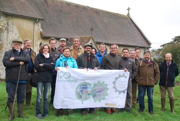 Administraciones de cuatro comunidades conocen proyectos agroambientales en Inglaterra con InterFIELD