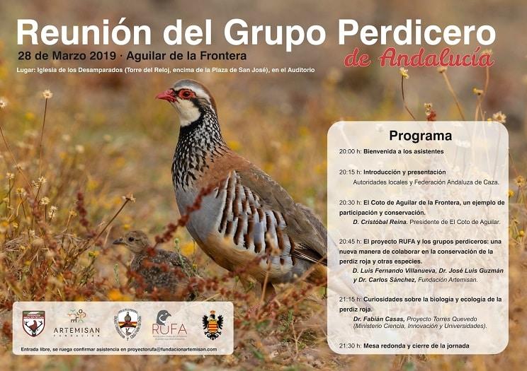 El 'Grupo Perdicero' de Andalucía se reúne en Aguilar de la Frontera (Córdoba)