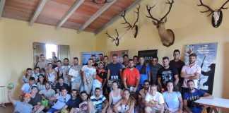 Jovenes cazadore se congregan en Extremadura