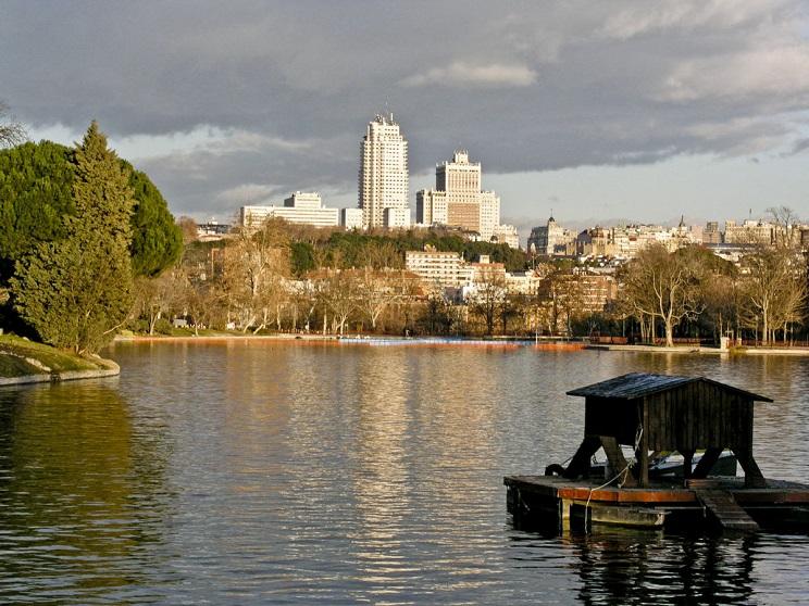 Lago de la Casa de Campo / Fotografía: Wikipedia