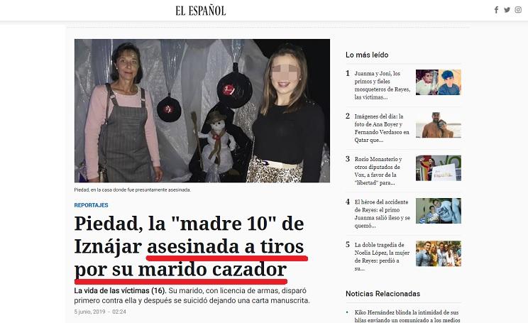 La RFEC exige a 'El Español' que rectifique por criminalizar a los cazadores