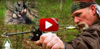 Lanza flechas con tirachinas