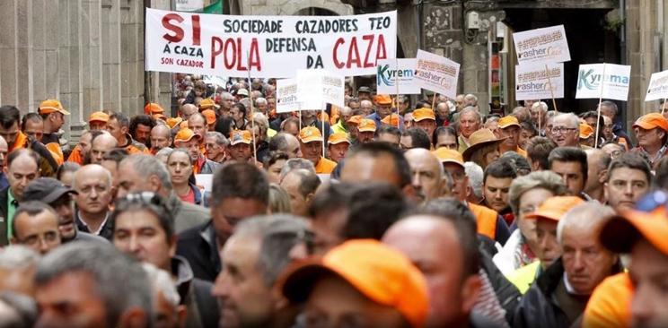 Manifestación en Galicia / Fotografía: www.europapress.es