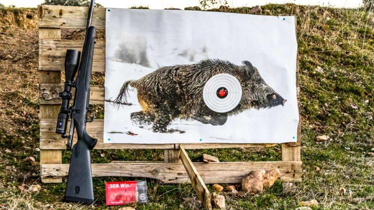 El Mauser M18 Extreme y el Zeiss V4 Conquest utilizados durante la prueba. ©Innova Ediciones