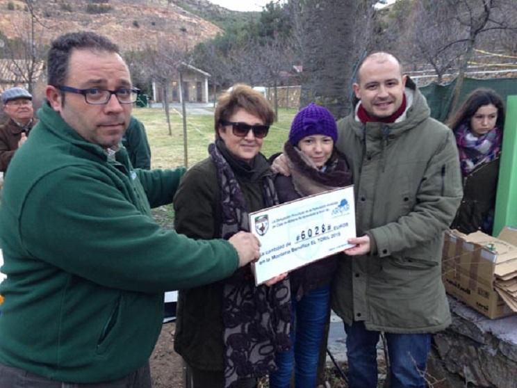Una montería benéfica en Almería recauda más de 6.000 euros para niños con cáncer