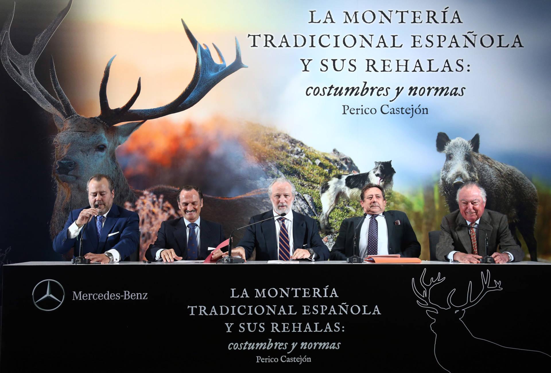 Presentación en Madrid del libro, La montería tradicional española y sus rehalas:  costumbres y normas.