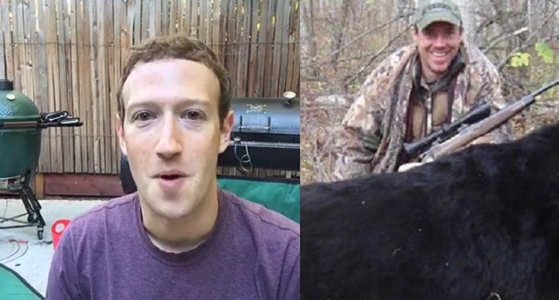Mark Zuckerberg, creador de Facebook, reconoce que es cazador