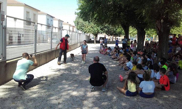 #MiPerroEsDeCaza cierra en la provincia de Jaén su actividad escolar 2016/17 llegando a más de 4.000 niños