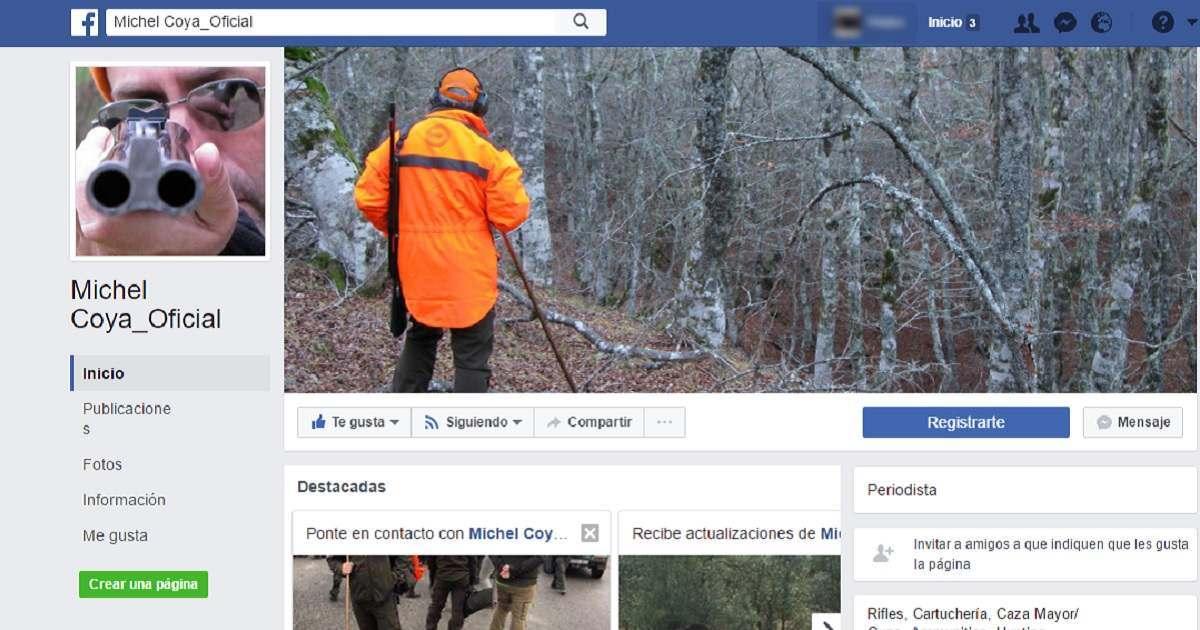 Facebook cierra la página de Michel Coya