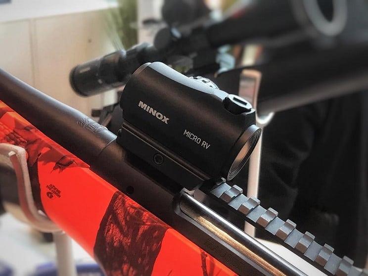 Nuevo punto rojo Minox Micro RV: rápido, fiable y robusto